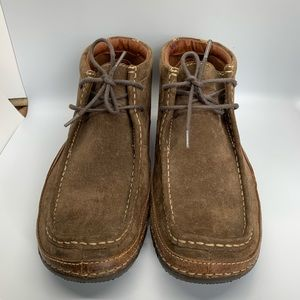 Vibram Shoes - New Vibram Suede mid  boots - NWOT